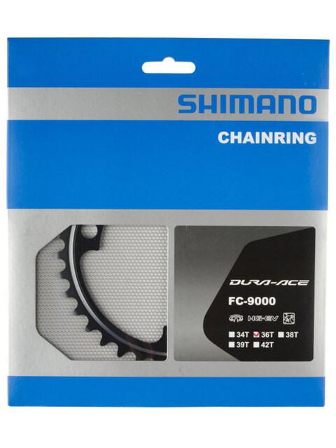 Shimano Dura-Ace FC-9000 Klinge 11-speed MB sort
